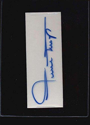 Cut Signature Willie Mays Authentic Autograph Signature Ax5710 - MLB Cut - Mays Signature Willie