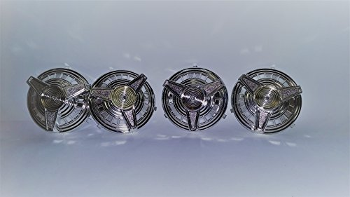 AMF Pedal Car Hubcaps - Set of Four