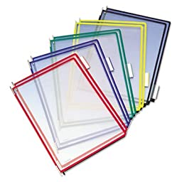 Replacement Pivoting Pockets for Wall Unit and Desktop Starter Set, 10/Pack, Sold as 10 Each