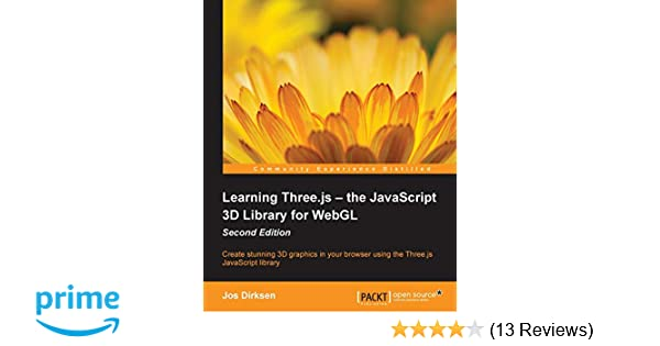 Learning Threejs The Javascript 3d Library For Webgl Second