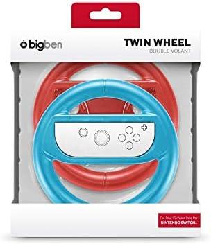 BigBen Interactive - Pack De 2 Volantes para Joy-con, Color Rojo Y ...