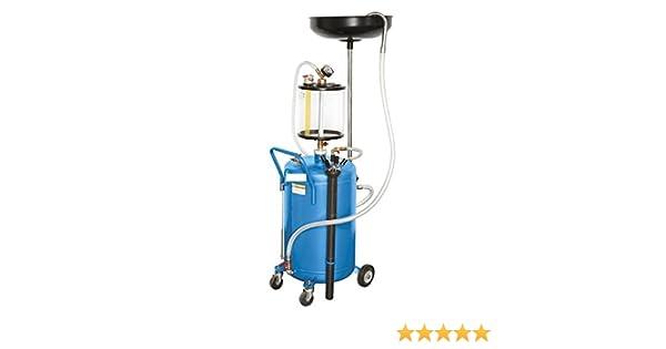 Aspirador - Recuperador neumático de aceite usado, capacidad de 80 ...