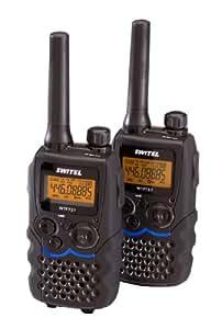 Switel WTF737 - Walkie talkies (alcance 10 km), color negro