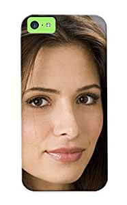 Ellent Iphone 5c Case Tpu Cover Back Skin Protector Brunettes Women Actress Sarah Shahi Faces Pices For Lovers