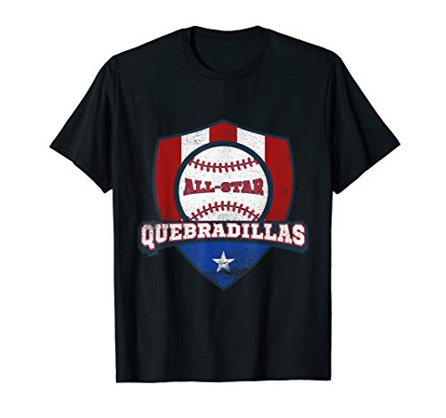 (Quebradillas Puerto Rico Camisa Puerto Rican Baseball Shirt)