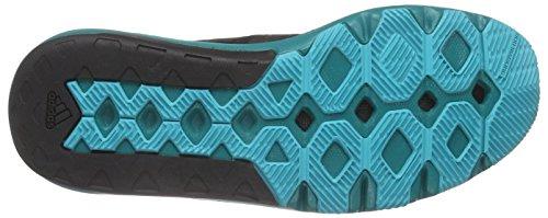 adidas Adipure 360.3 M Zapatillas de running, Hombre Negro / Verde (Negbas / Negbas / Eqtver)