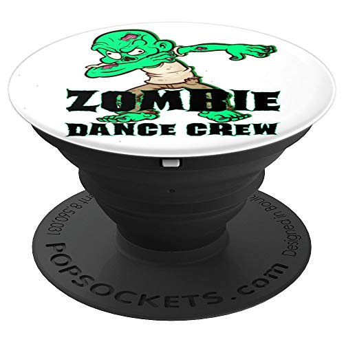 Halloween Zombie Dance Crew Dabbing Breakdancing Team - PopSockets Grip and Stand for Phones and Tablets ()