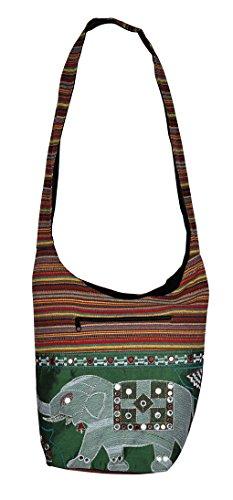 Vintage Designer Damen Hobo Tasche Jhola