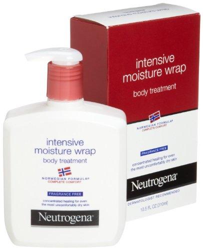 Neutrogena Norwegian Formula, Intense Moisture Wrap, Body Treatment, Fragrance Free, 10.5 Ounce (Pack of 3) (Formula Body Wrap)