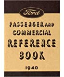1940 FORD Car Full Line Owners Manual User Guide