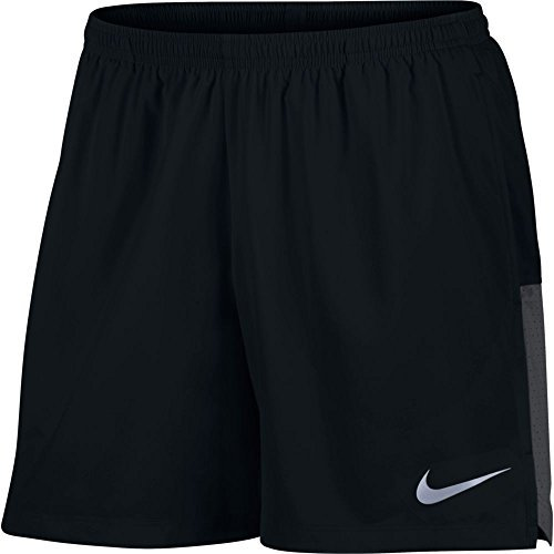 Men's Nike Flex Running Short Black/Anthracite Size Medium (3 Pack) by NIKE