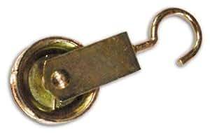 Roldana Tendedero con latón Tamaño 40 mm Paquete. 24 piezas