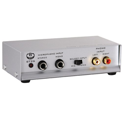 Amplificatore phono / microfono B-Tech BT26/S