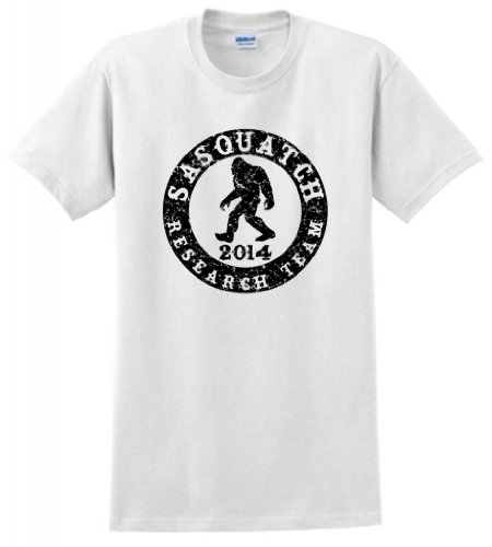 Sasquatch Research Team T-Shirt XL White