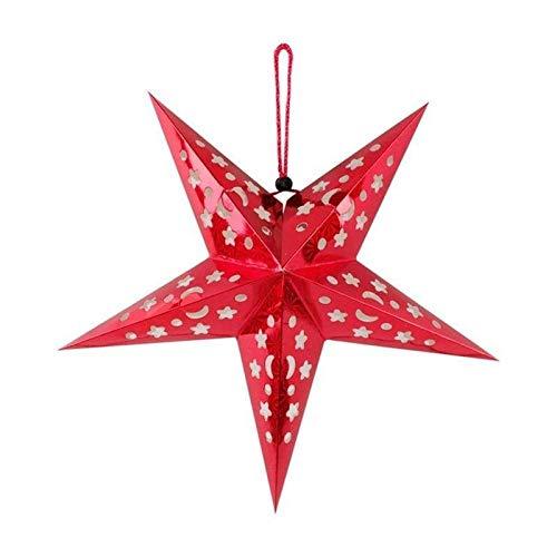 Stella Di Natale Tridimensionale.Paralume Stella Di Natale Decorazione Soffitto Tridimensionale Laser