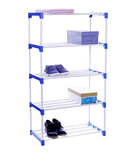 LookNSnap Multipurpose Shoe Rack Organizer   5 Shelve
