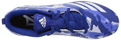 adidas Unisex Adizero 5-Star 7.0 Football Shoe, White/Collegiate Royal/hi-res Blue, 5 M US Big Kid by adidas (Image #7)