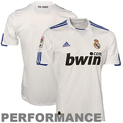 Amazon.com   adidas Real Madrid Home Jersey 10 11   Sports Related ... 2070be078