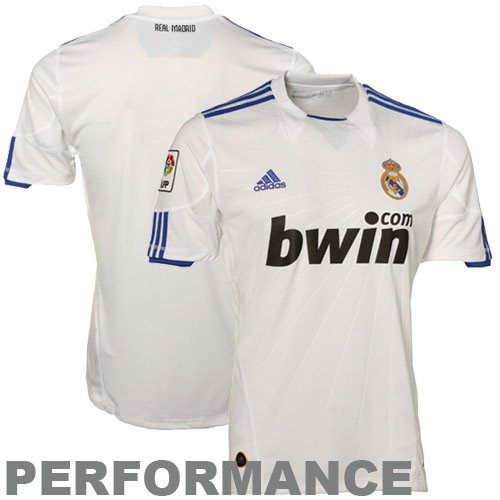 Real Madrid Home Soccer Jersey Size Adult L