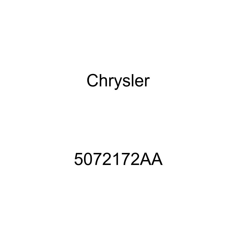 Genuine Chrysler 5072172AA Air Conditioning Heater Supply Hose