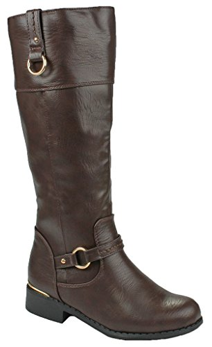 JJF Shoes Forever Link Mango-21 Lady Boot Brown_fk