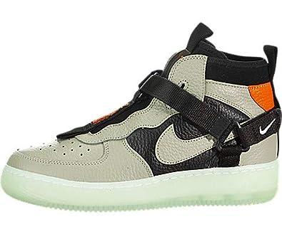 Amazon.com | Nike Air Force 1 Utility Mid (Kids) | Basketball