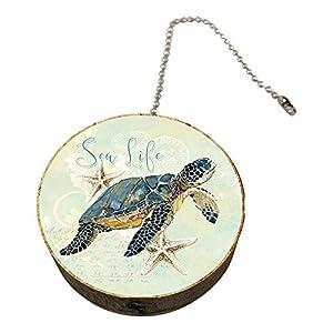 41MPUQI9muL._SS300_ 75+ Coastal & Beach Ceiling Fan Pull Chain Ornaments For 2020