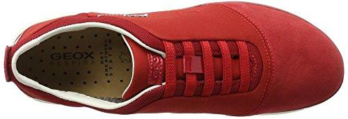 Geox D Nebula G, Zapatillas para Mujer Rojo (REDC7000)