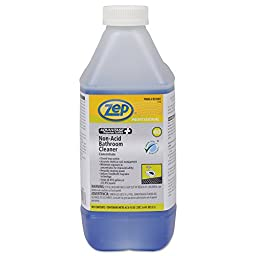 Zep Professional R35901CT Advantage+ Concentrated Non-Acid Bathroom Cleaner, 67.6 oz. Bottle (Pack of 4)