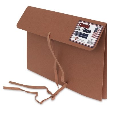 Art Envelope - Star Products Classic Red Rope Tie Tape Portfolio, 14-Inch by 20-Inch