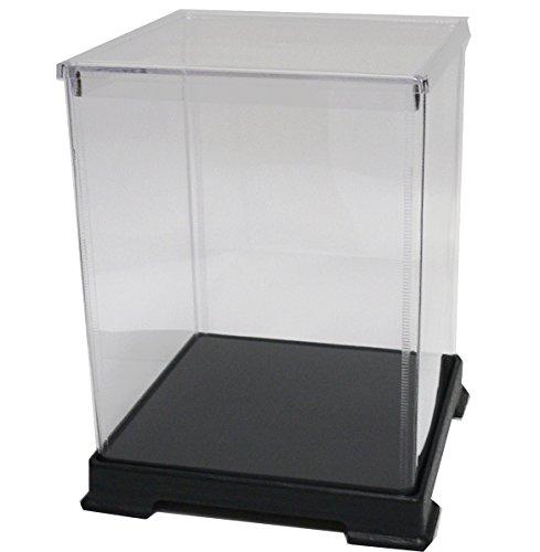 투명 피규어 케이스 404050 플라스틱 조립식 W400×D400×H500mm 디스플레이 케이스