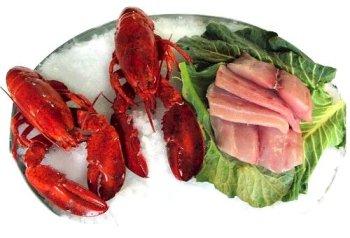 2 Lobsters and 2 lbs. Fresh Mahi Mahi