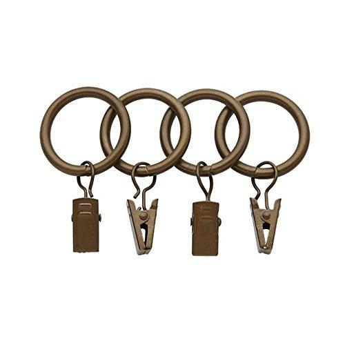 """Bali Blinds 1"""" Rings, Golden Brass"""