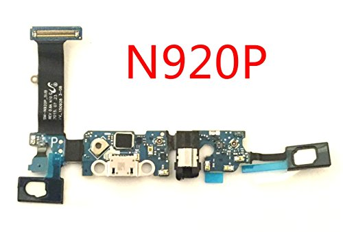 (by Walking Slow- Replacement USB Charging Charger Port Micphone Flex Cable Dock Connector Ribbon for Samsung Galaxy Note 5 N920 -PLS Choose Correct Version- (N920P Sprint))