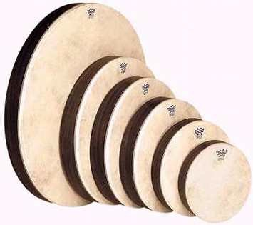 Remo Set of 6 Pretuned Hand Drums by Remo