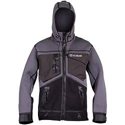 Stormr Strykr Jacket, Smoke/Black, Small - Fishing, Fly Fishing & Ice Fishing