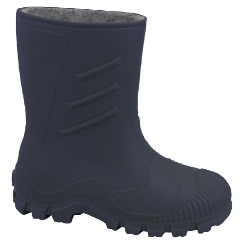Kids Stiefel Navy Boot Welly Warm Blau Dunkelblau Manbi Jungen Splash vnXxdqq40