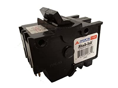 American/Federal Pacific Circuit Breaker, 2-Pole 60-Amp Thick Series