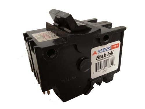 American/Federal Pacific Circuit Breaker, 2-Pole 60-Amp Thick Series by Connecticut Electric