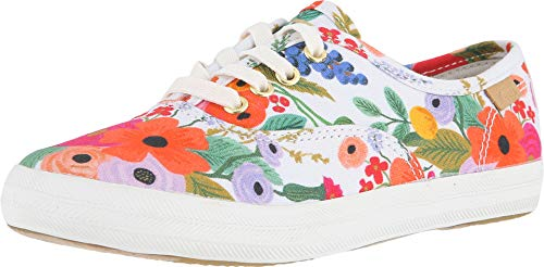 Keds Kids Girl's Rifle Paper Champion Seasonal (Little Kid/Big Kid) Garden Party 5 M US Big Kid