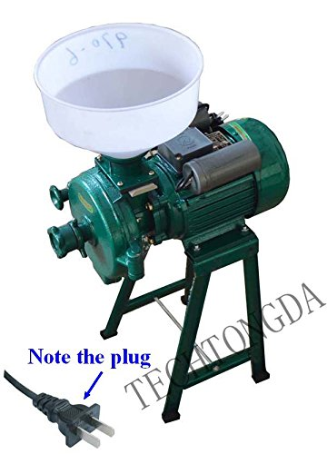 220V Electric Animal Poultry Feed Mill Grinder Corn Grain by Home Garden Tools