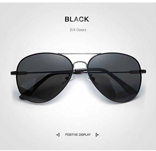 conducción Men Red Luxury Sol Sunglass Aviation Retro Hombres de Sol Color para Gafas diseñador Gafas Oro de Hombre Black Polarized para de de Marca Yao Gafas tS5RqcwR