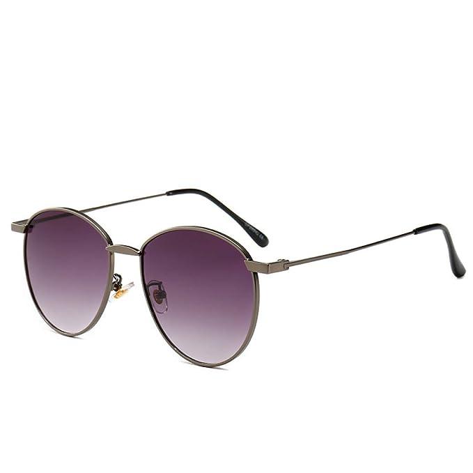 Yangjing-hl Gafas de Sol de Moda de la Marca Korea Tide ...
