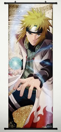 Wall Scroll Poster Fabric Painting For Anime Naruto Namikaze