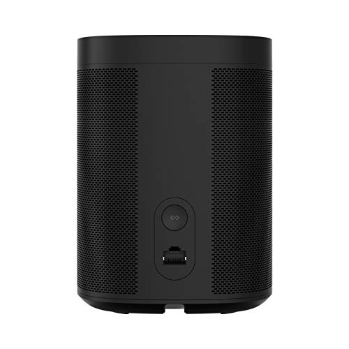 Sonos One, the powerful smart speaker with voice control built in (Black) by Sonos (Image #3)