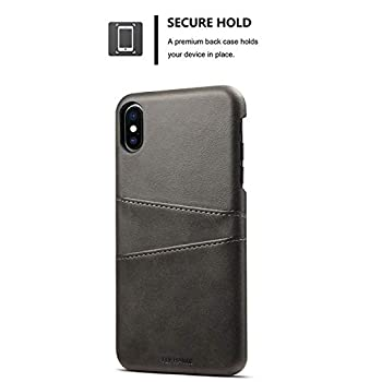 Wallet Case Compatible 2018 iPhone Xs MAX/ 10S MAX, 6.5 inches Slim PU Leather Back Case Cover Credit Card Holder Black
