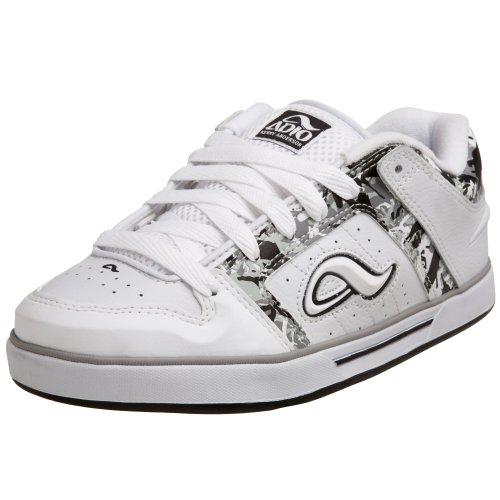 Adio Menns Kenny V2 Sneaker Hvit / Svart / Grå