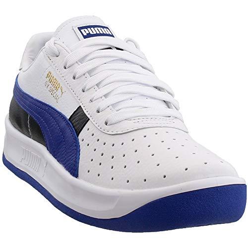 PUMA Mens GV Special + Colorblock Athletic Shoes White 7 (Puma Gv Special Men White)