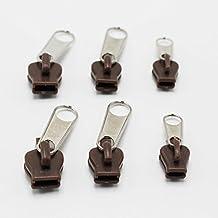 OPPOHERE Fix A Zipper Zip Slider Rescue Instant Repair Kit Replacement 6Pcs