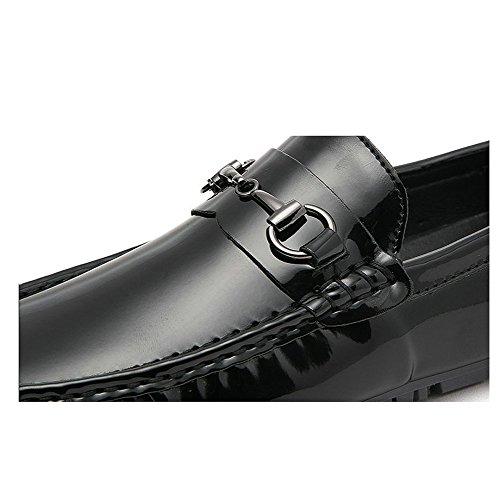 Microfibre Occasionnels Confortable Hommes en Red Jeunes Cuir Conduite Respirant Chaussures Paresseux DHFUD SwAY7qEE